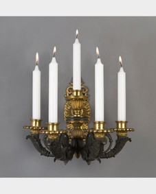 Empire candle sconces