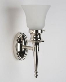 Thalia Sconce in Polished Nickel