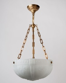 Inverted Dome Chandelier