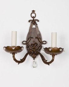 Foliate sconces