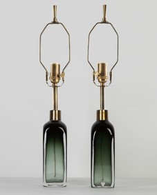 Orrefors table lamps