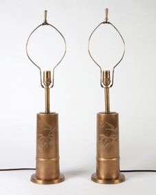 Brass bamboo Lamps
