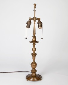 Bronze Baroque Table Lamp by Edward F. Caldwell Co.