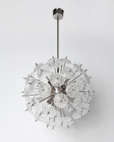 Glass Sputnik Chandelier