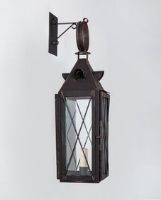 Late 18th C. Petite Exterior Wall Lantern