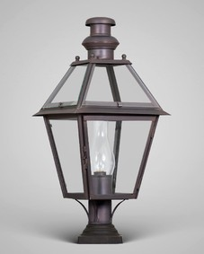 Philadelphia Exterior Post Lantern Medium