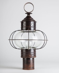 New England Onion Exterior Post Lantern Large