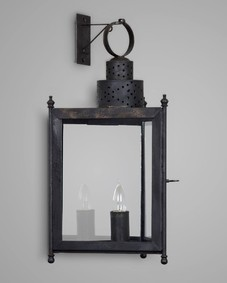 Three Sided Wall Lantern Large