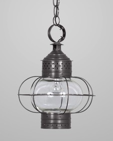 New England Onion Exterior Hanging Lantern Small