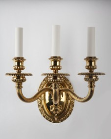 Caldwell brass sconces