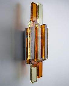 Bergboms glass sconces