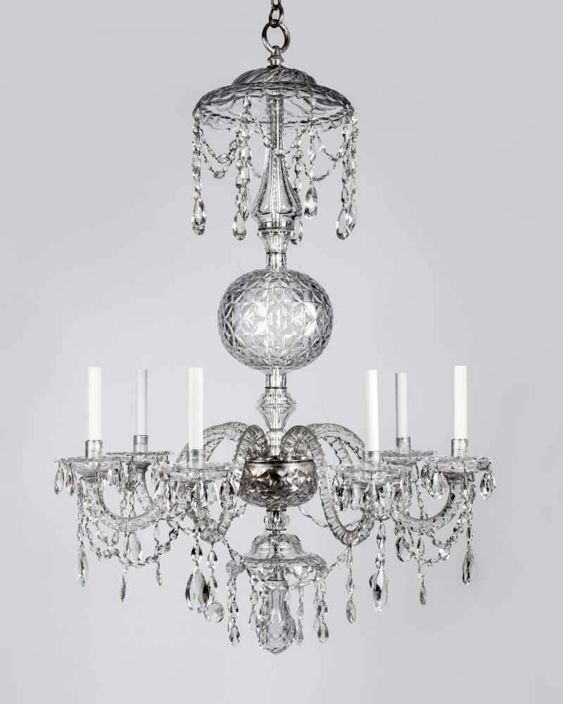 Cut glass chandelier ahl3959 remains loading zoom mozeypictures Images