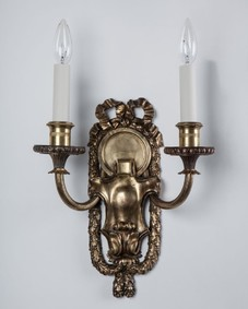 Brass Caldwell sconces