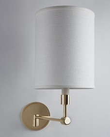 Dornier Single Swing Arm Sconce