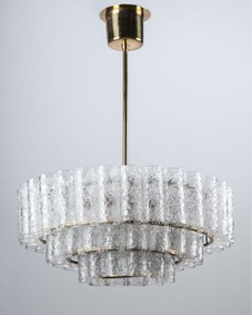 Doria glass chandelier