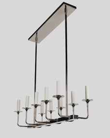 Veronique Linear 10 Chandelier