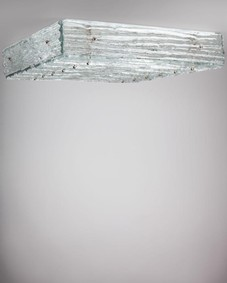 Kalmar glass flush mount
