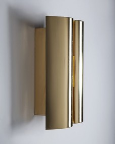 Brass Fagerhults sconces