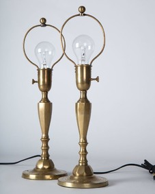 Sterling Bronze lamps