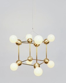 Lina 08-Light Cube Chandelier