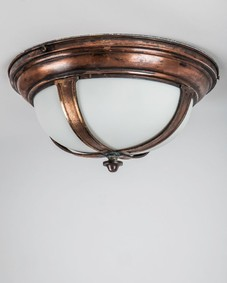 Bronze flush mount