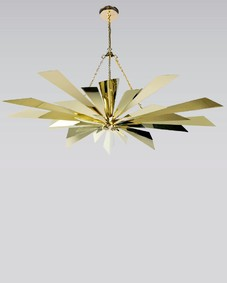 California Sunburst Corona 46 Chandelier
