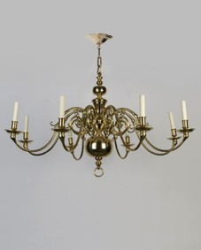 Dutch-style chandelier