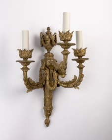 Bronze sconces
